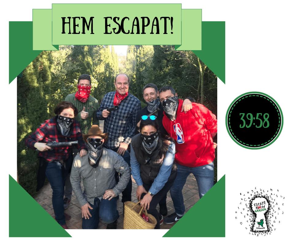 Escape Garden endemica